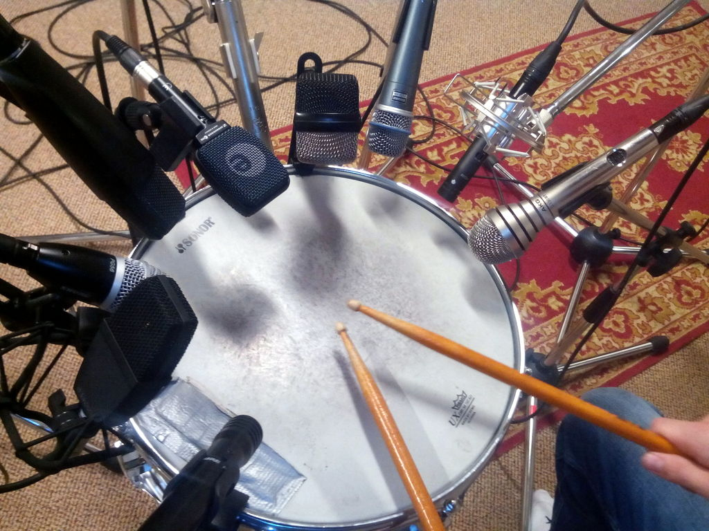 Snare mic test